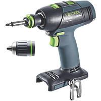 Festool T18+3 Li 18V Li-Ion  Brushless Cordless Drill Driver - Bare