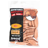 Trend No. 20 Jointing Biscuits Pack of 100 100 Pack