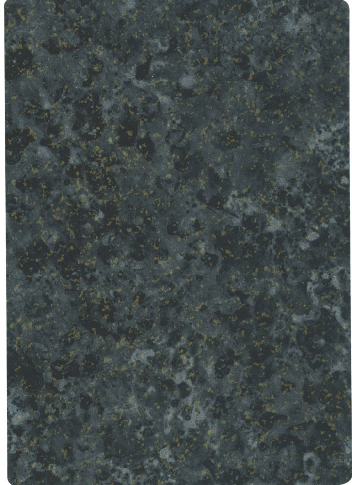 Formica Laminate Worktop Inca Midnight Gloss Finish 3000 x 600mm