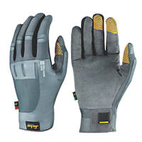 Snickers Precision Skin Performance Gloves Grey Large