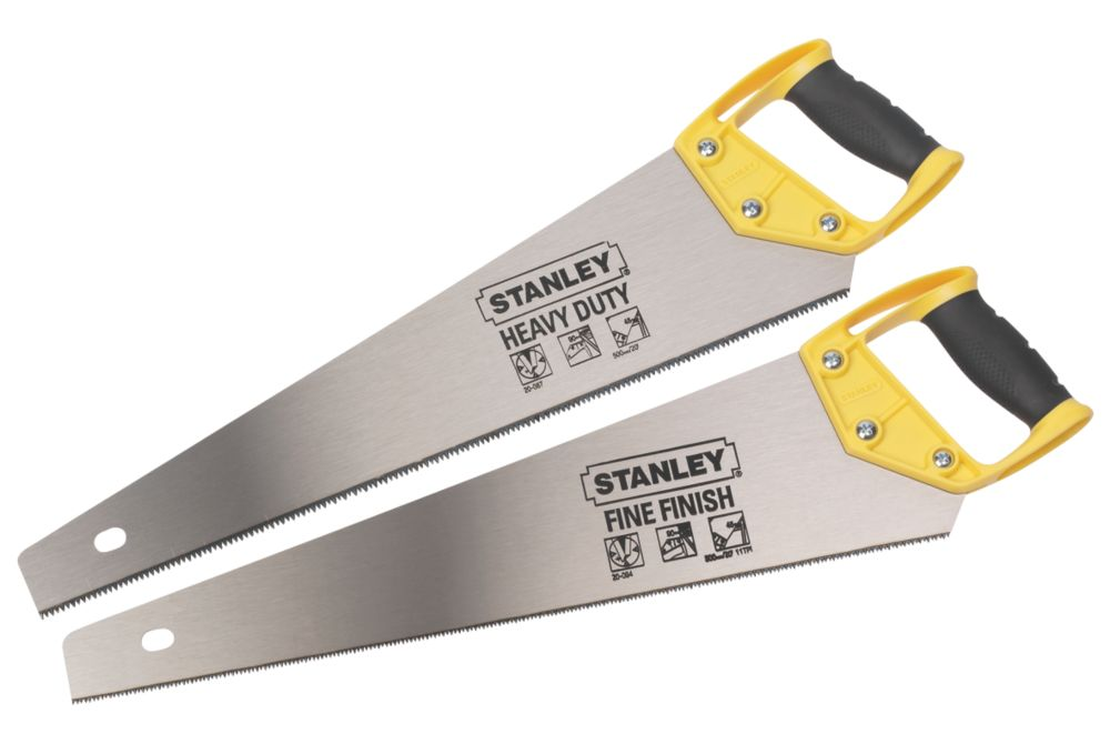 """Stanley Universal Saws 20"""" Twin Pack"""