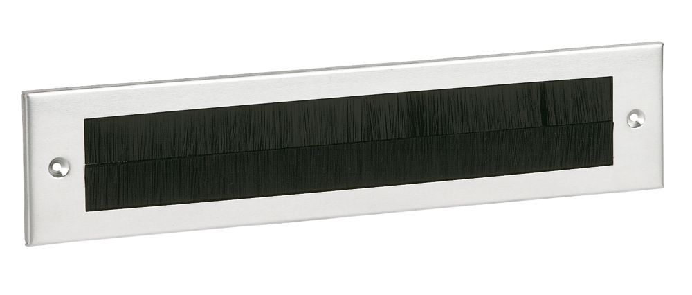 Brush Letter Plates Silver Effect 335 x 75mm