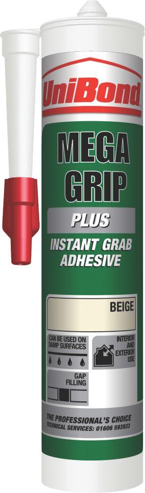 Unibond MegaGrip Plus Water Resistant Grab Adhesive 300ml