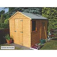 Shire 8' x 6' (Nominal) Apex Shiplap T&G Timber Shed