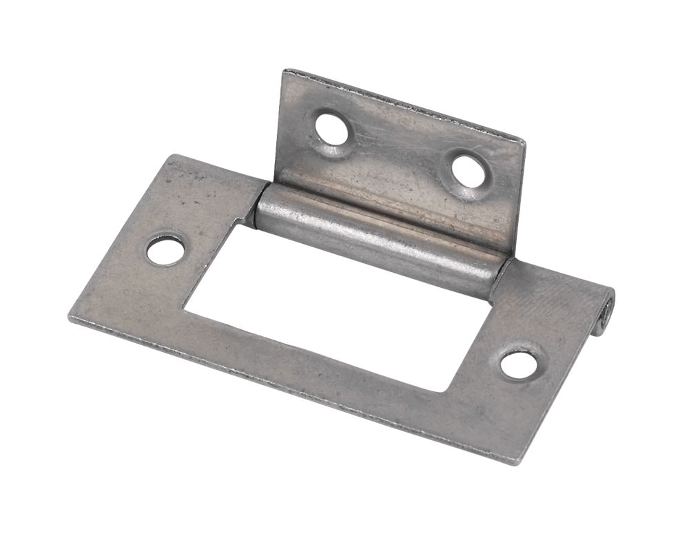 Flush Hinge Self Colour 51 x 25 x 1mm Pack of 20