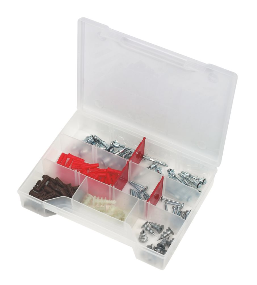 Rawlplug Cavity Fixings Kit 125Pcs