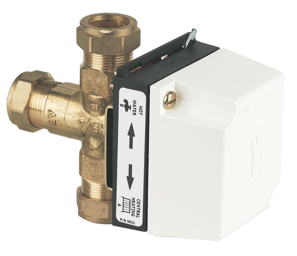 Danfoss HS3 3 Port Motorised Valve