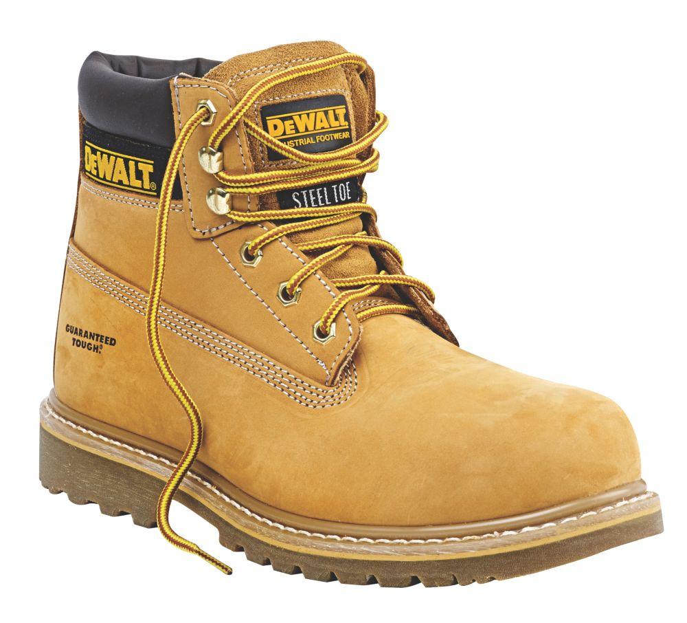 DeWalt Work Safety Boots Wheat Size 12