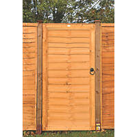 Grange Side Entry Lap Timber Gate 0.9 x 1.82m Golden Brown