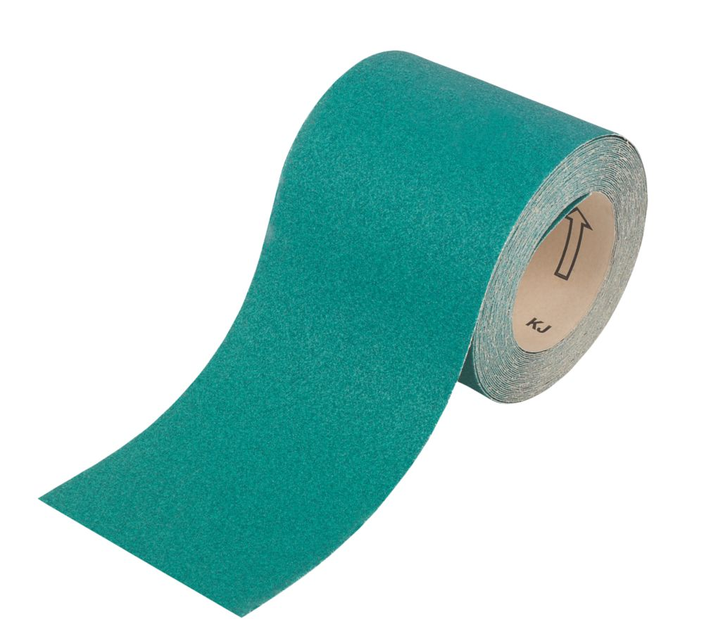 Oakey Liberty Green Sanding Roll 115mm x 10m 40 Grit