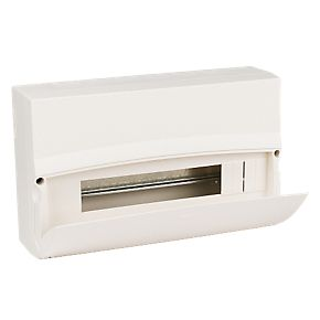MK Sentry 14 Way 16 Module Insulated Consumer Unit Enclosure