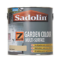 Sadolin Garden Colour 7-Year Woodstain Raw Canvas 2.5Ltr