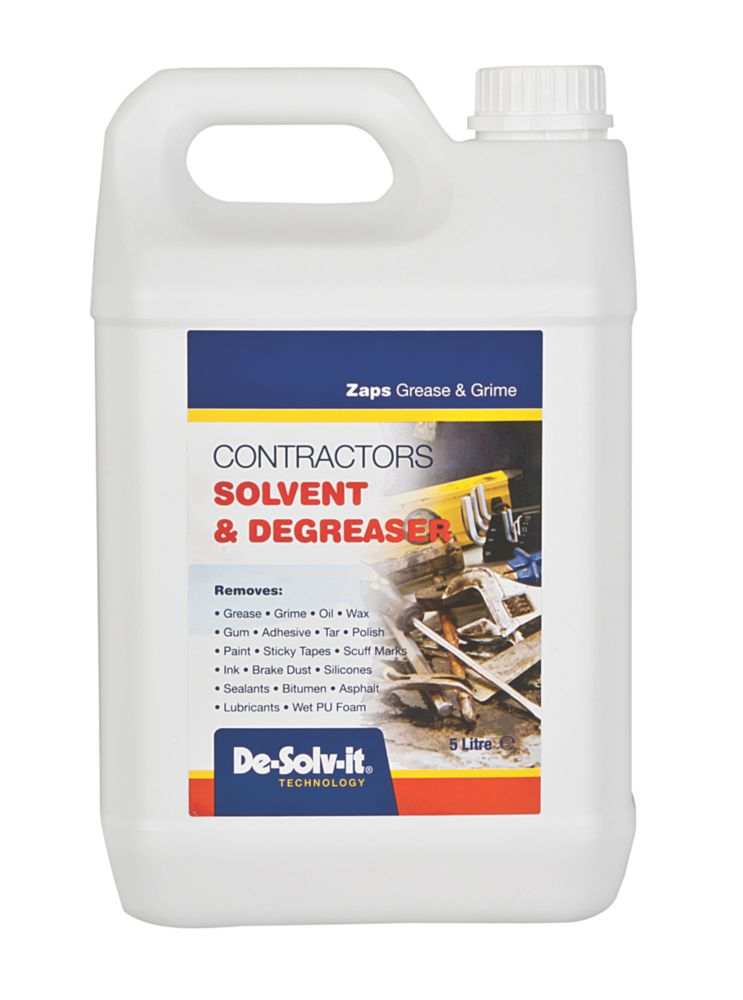 De.Solv.It Contractors Solvent Clear 5Ltr