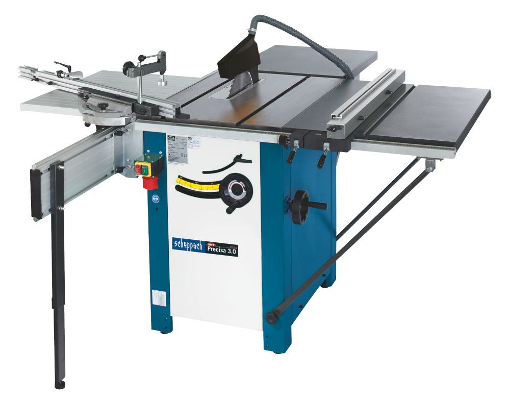 Scheppach Precisa 3 Saw Bench 280mm Sliding Table Saw 240V