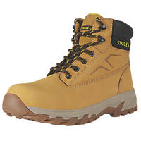 Stanley Tradesman Safety Boots Honey Size 8