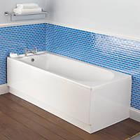 Bath End Panel Acrylic 690mm White