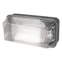 LAP 1052A Anti-Vandal Bulkhead Wall Light Black 60W