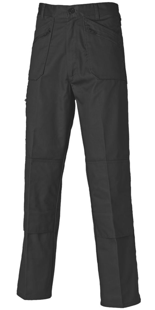 "Dickies Redhawk Action Trousers Black 36"" W 30"" L"