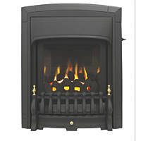 Valor Dream Slimline Black Slide Control Inset Gas Fire