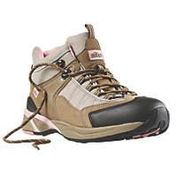 Site  Ladies Safety Trainer Boots Beige Size 6