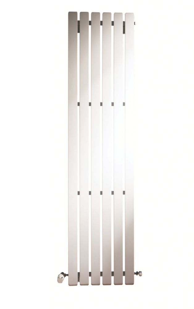 Erupto Square Vertical Designer Radiator White 1800 x 435mm 4649BTU