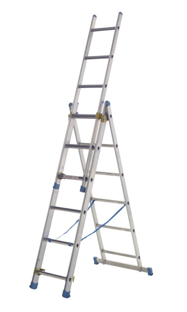 Combination Ladder 3 x 9 Rung