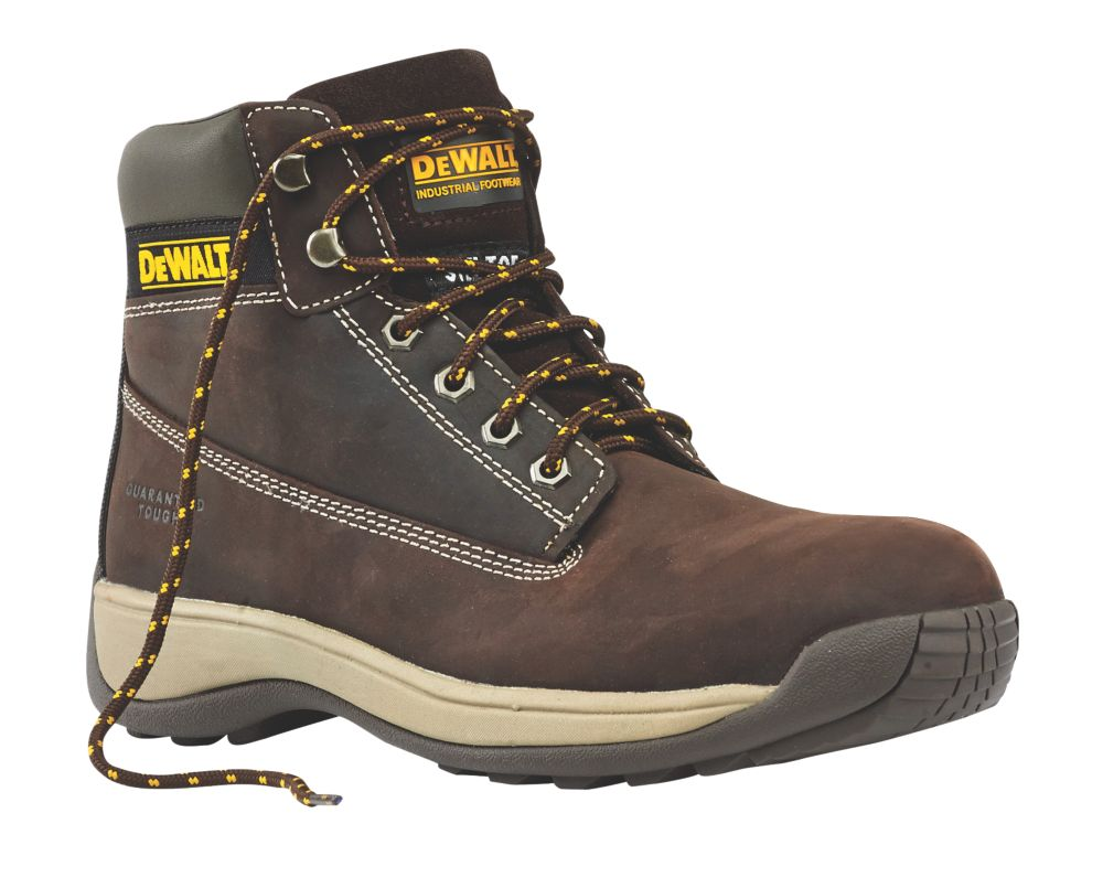DeWalt Apprentice Safety Boots Brown Size 10