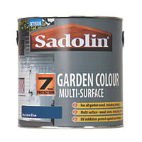 Sadolin Garden Colour 7-Year Woodstain Nocturne Blue 2.5Ltr