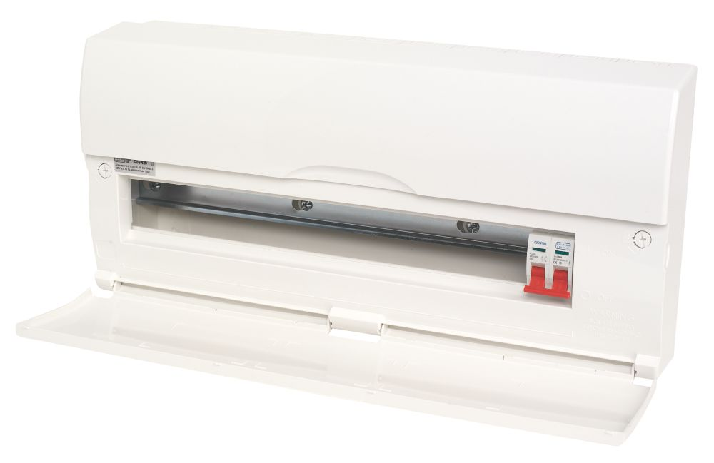 20-Way Insulated Consumer Unit & 100A Switch