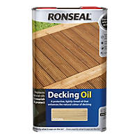 Ronseal Decking Oil Natural 5Ltr