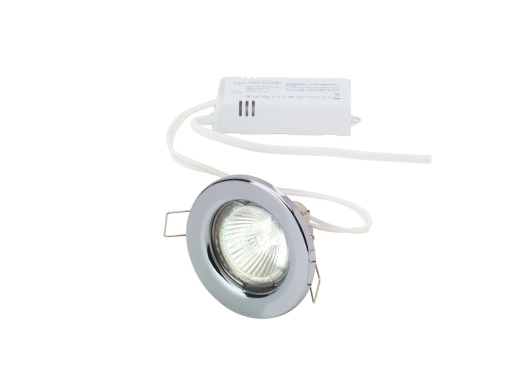 Halolite Fixed Polished Chrome 12V Low Voltage Downlights