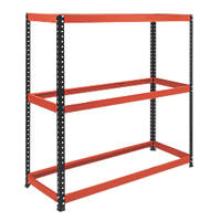 RB Boss Powder-Coated Freestanding Tyre Rack 3-Tier