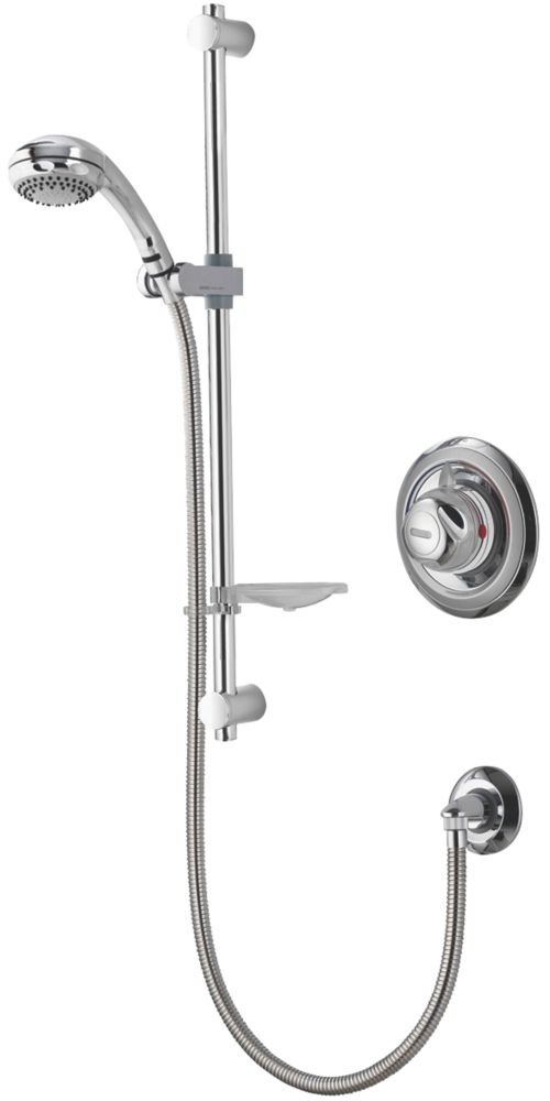Aqualisa Thermostatic Mixer Shower Built-In Chrome