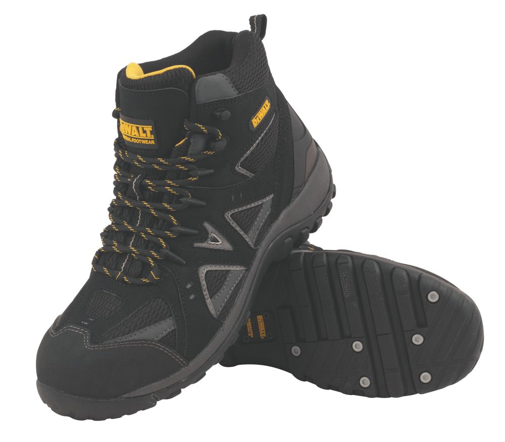 DeWalt Driver Safety Trainers Black Size 12