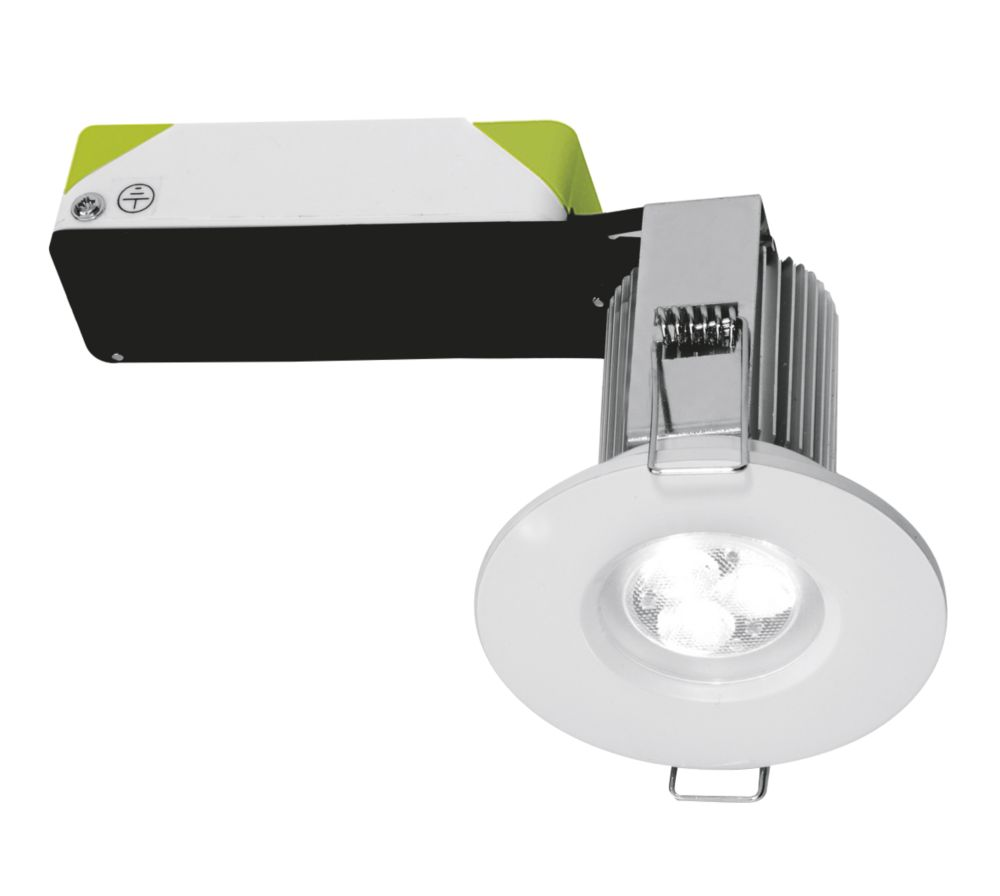 Halolite Fixed Fire Rated Integrated Dimmable LED Downlight White 240V