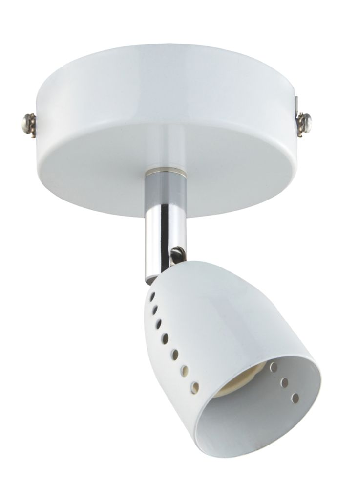 Luno White Single Spotlight