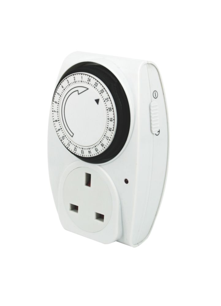 Masterplug TM24 Mechanical Daily Timer 240V