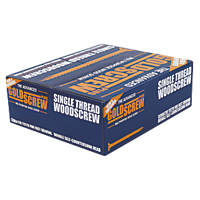 Goldscrew Plus Woodscrews Double Countersunk 5 x 100mm 1000 Pack