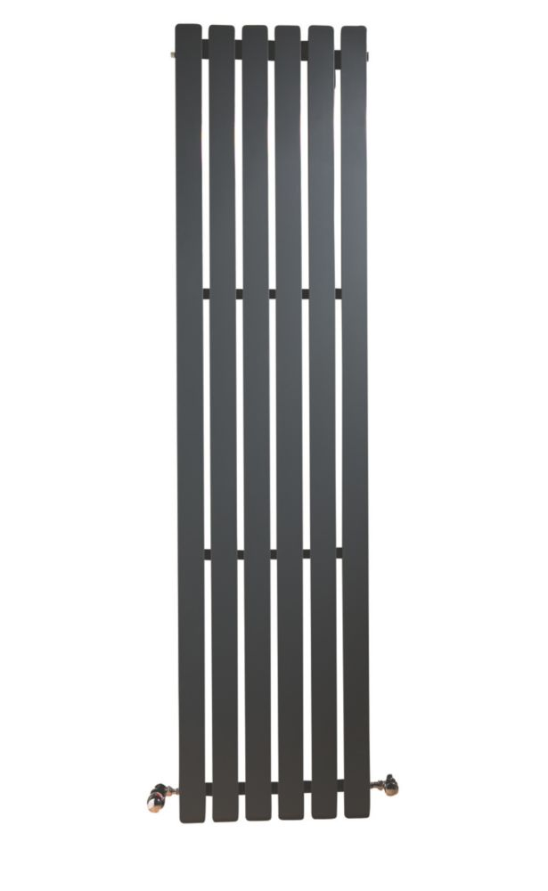 Erupto Square Vertical Designer Radiator Anthracite 1800 x 435mm 4649BTU