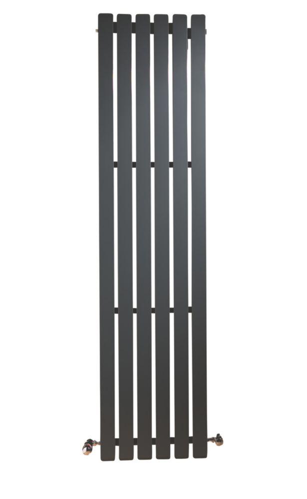 Erupto Square Vertical Designer Radiator Anthracite 1800 x 435mm 4649BTU