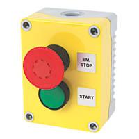 Hylec 2-Way A-Lock Start Push Button