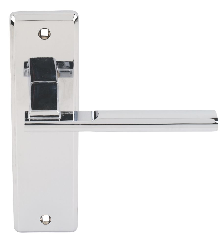 Jedo Frelan Delta Door Handle Pack Polished Chrome