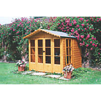 Chatsworth Shiplap Summerhouse Assembly Included 2.1 x 2.1m