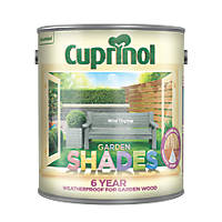 Cuprinol Garden Shades Wood Paint Wild Thyme 2.5Ltr