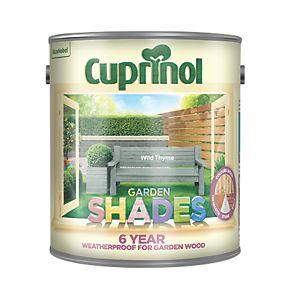 Cuprinol Garden Shades Wood Paint Matt Wild Thyme 2 5ltr Exterior Wood Paint
