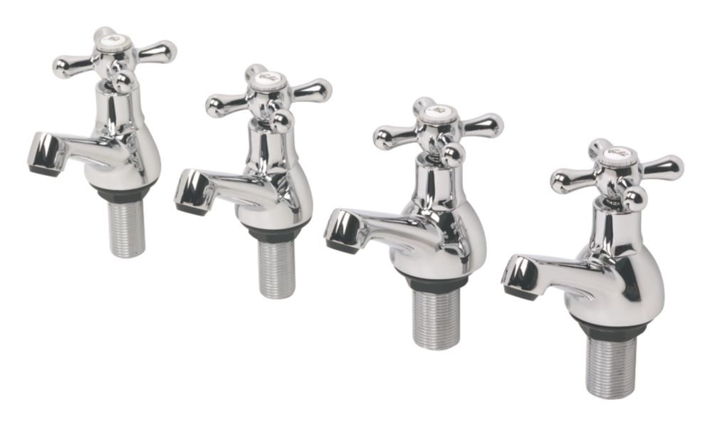 Swirl Traditional Bath & Basin Taps Pack