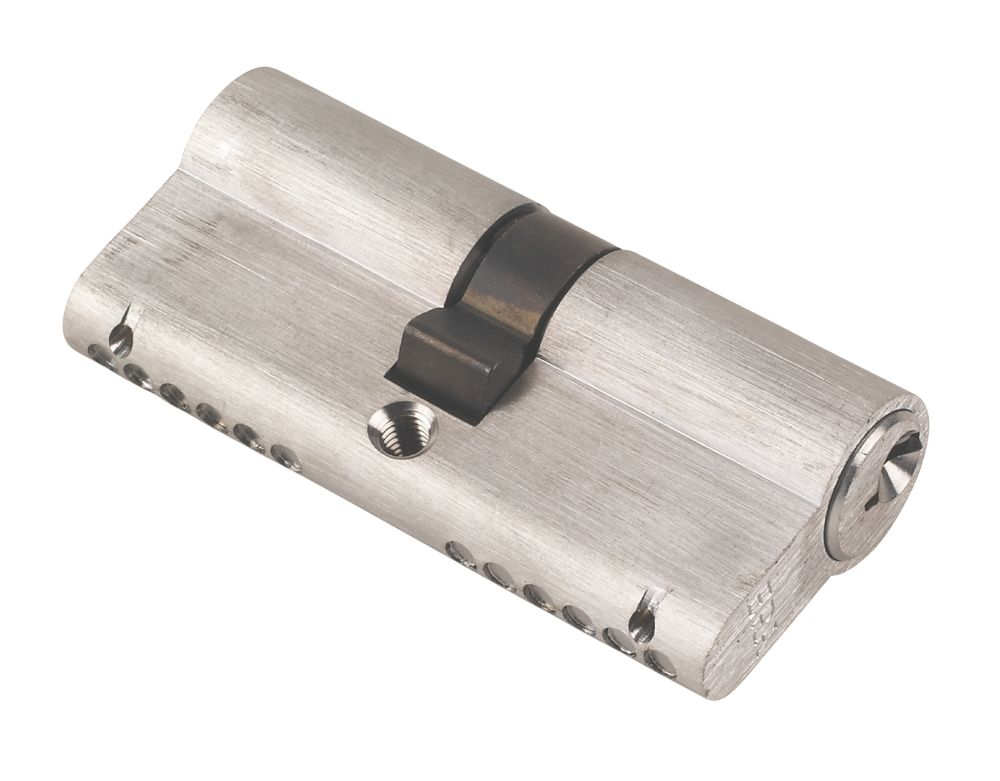 Era 6-Pin Euro Cylinder Lock 35-35 (70mm) Satin
