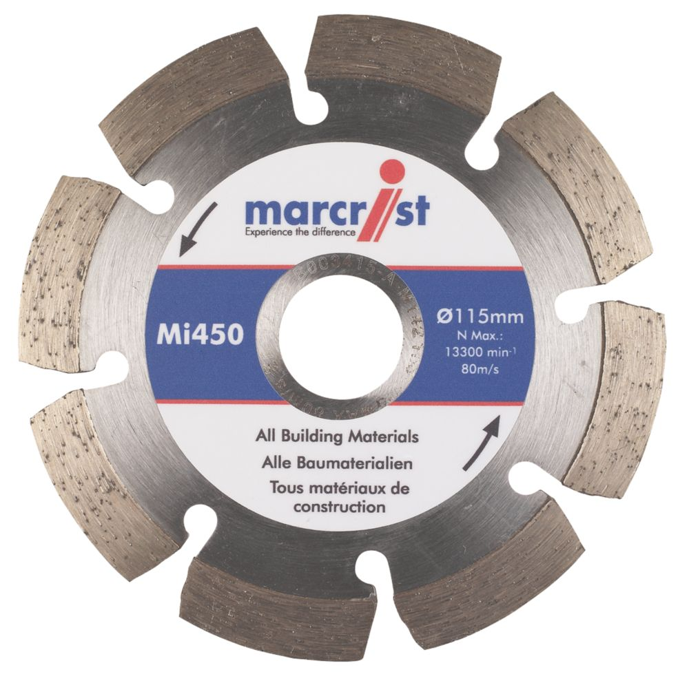 Marcrist MI450 Diamond Blade 115 x 22.23mm