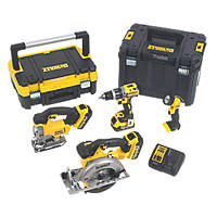 DeWalt DCK457M3T-GB 18V 4.0Ah Li-Ion   Cordless 4-Piece Power Tool Kit