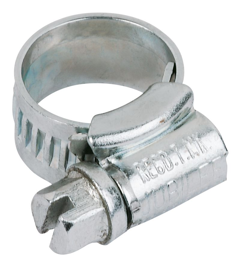 Jubilee Hose Clips 9.5 - 12mm Pack of 10